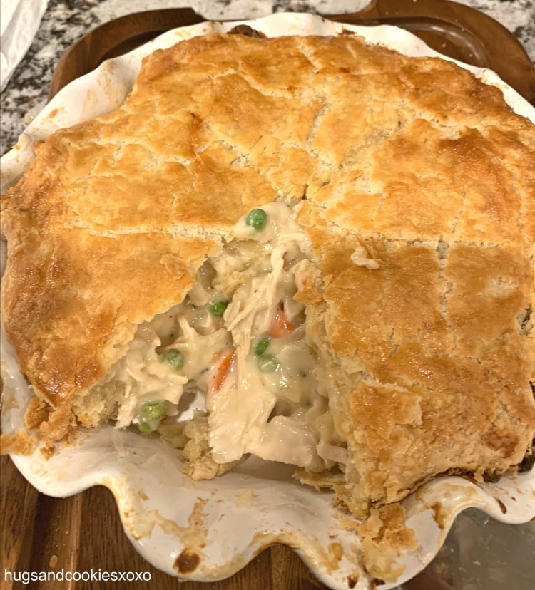 Chicken Pot Pie with Buttermilk Crust