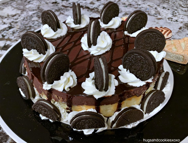 Oreo Brownie Cheesecake