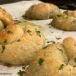 Spinach Artichoke Stuffed Pretzels