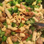 Creamy Sausage and Broccoli