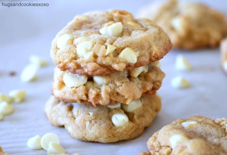 White Chocolate Macadamia Nut Cookies