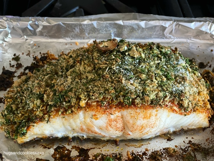 Chilean Sea Bass Gremolata
