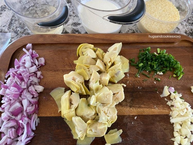Artichoke Parmesan Chicken ingredients