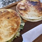 Spinach Artichoke Quesadillas