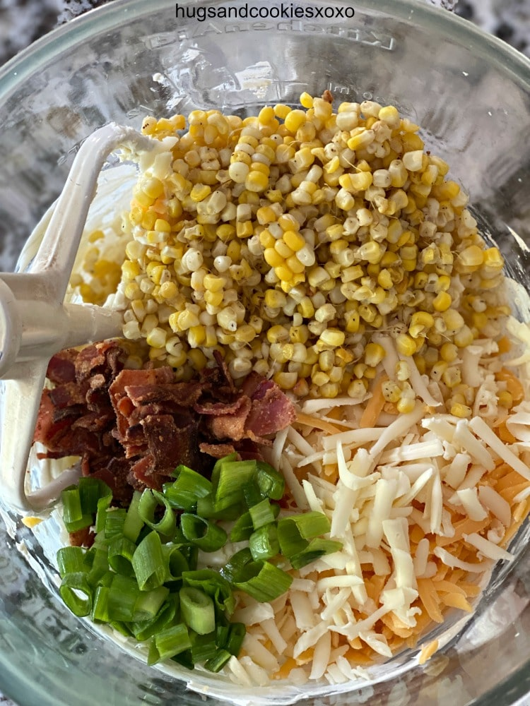 Bacon Corn Skillet Dip