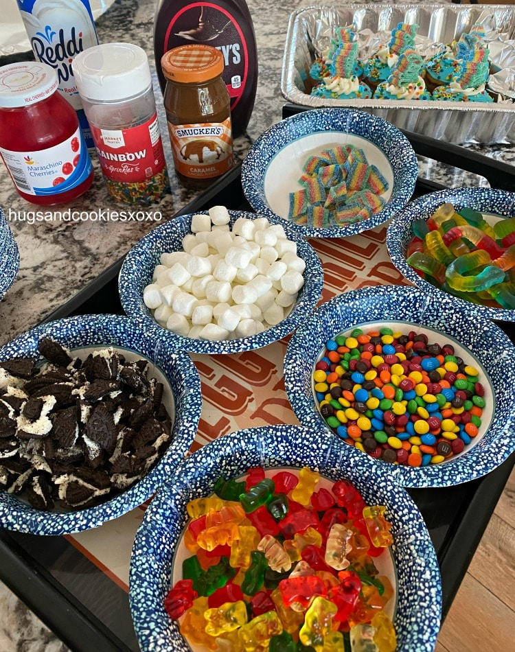 Make Your Own Sundae with toppings