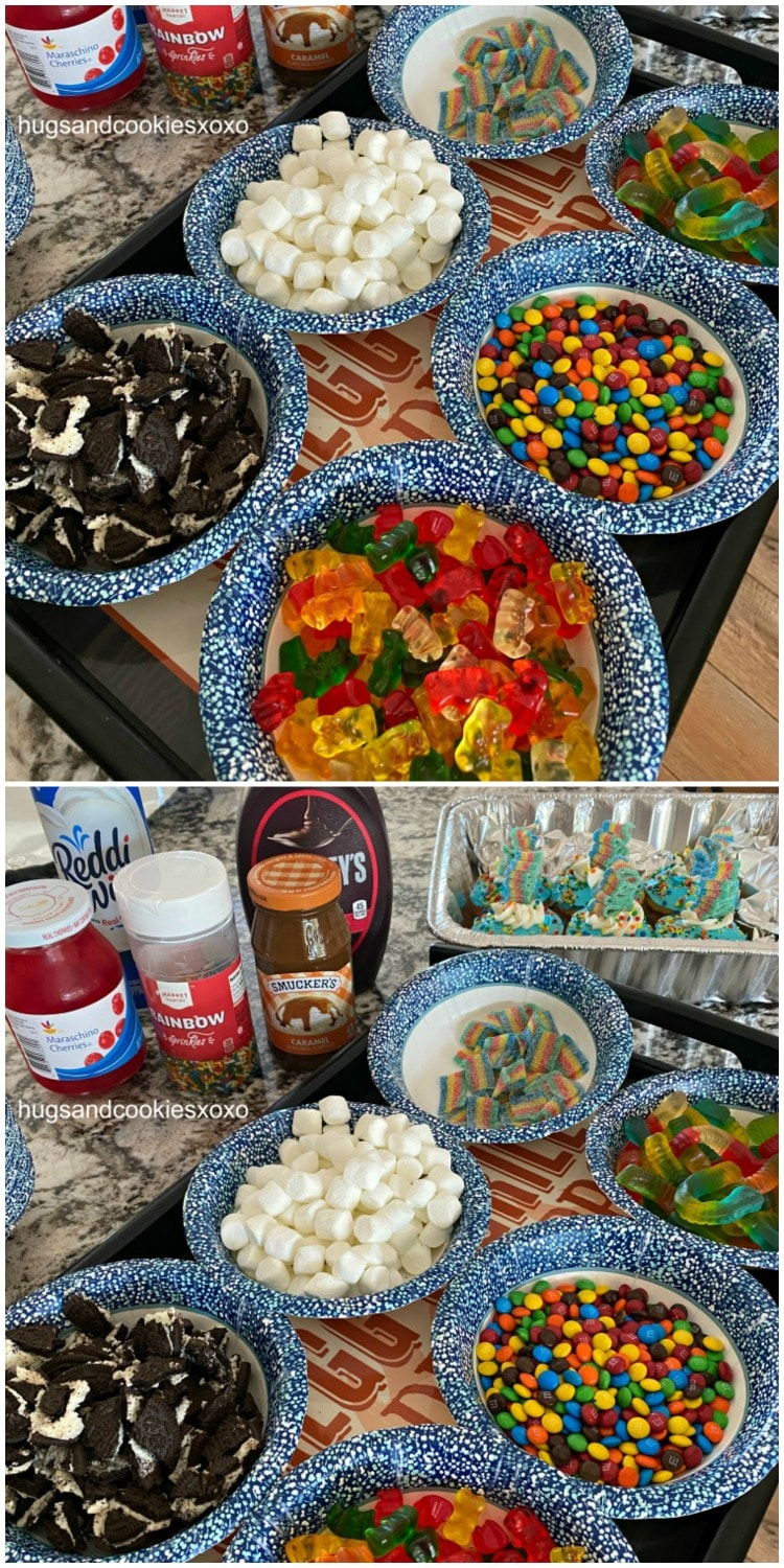 Make Your Own Sundae candies