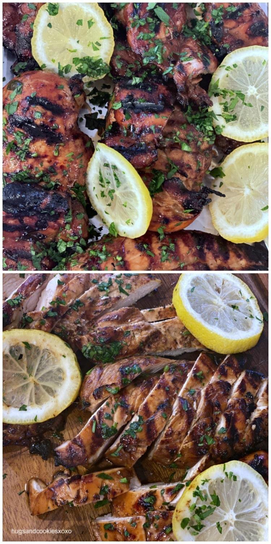 Balsamic Chicken Marinade parsley