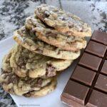 Milk Chocolate Chunk Cookies