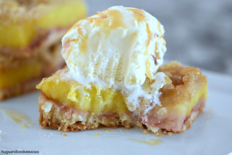 peach pie buttery crust