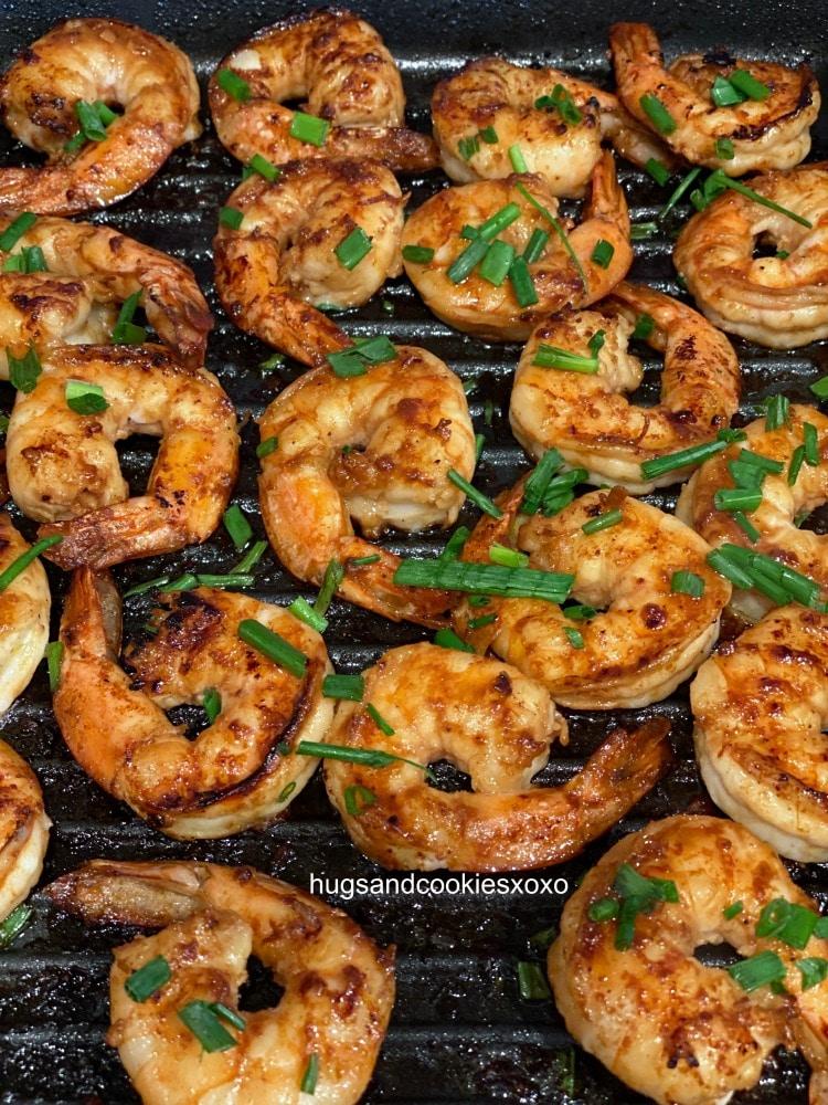 rum glazed shrimp