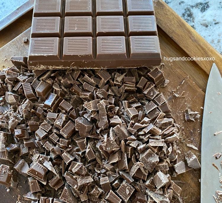 chopped milk chocolate trader joe's