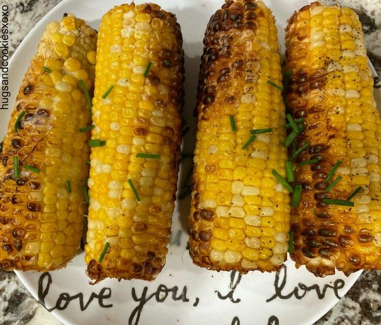 air fryer corn on cob