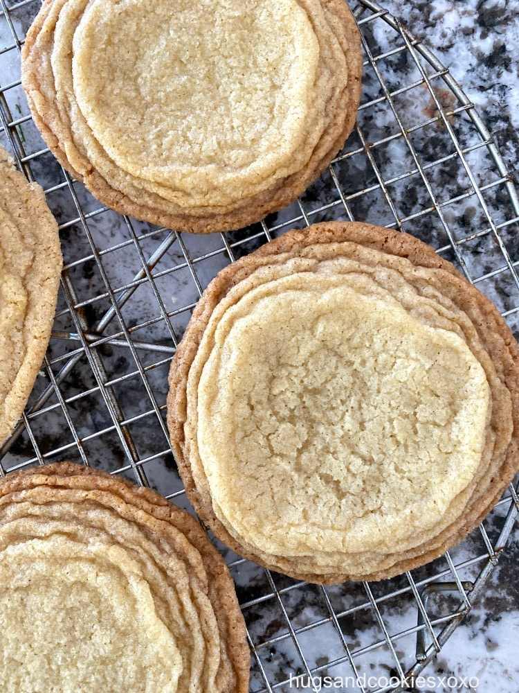 Pan Banging Vanilla Sugar Cookies