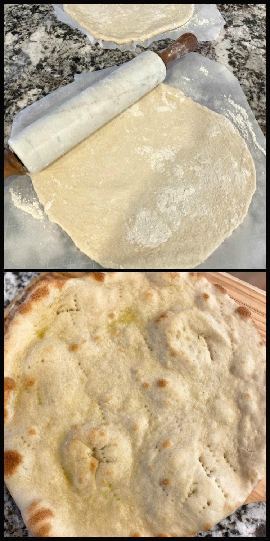 24 Hour Pizza Dough crispy thin