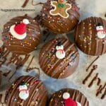 Christmas Hot Chocolate Bombs