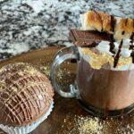 Toasted Marshmallow Hot Chocolate Bombs