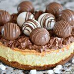 Chocolate Bomb Cheesecake