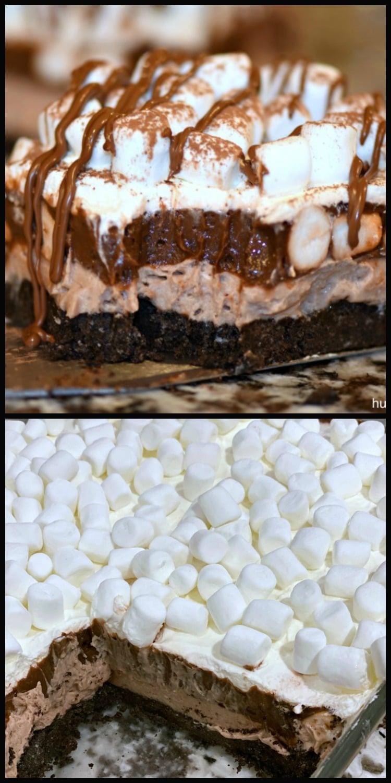 Oreo Chocolate Lasagna