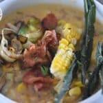 Roasted Corn and Potato Chowder