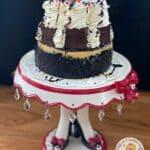 Mini Brownie Sundae Cheesecake