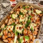 Sheet Pan Korean Chicken and Sweet Potatoes