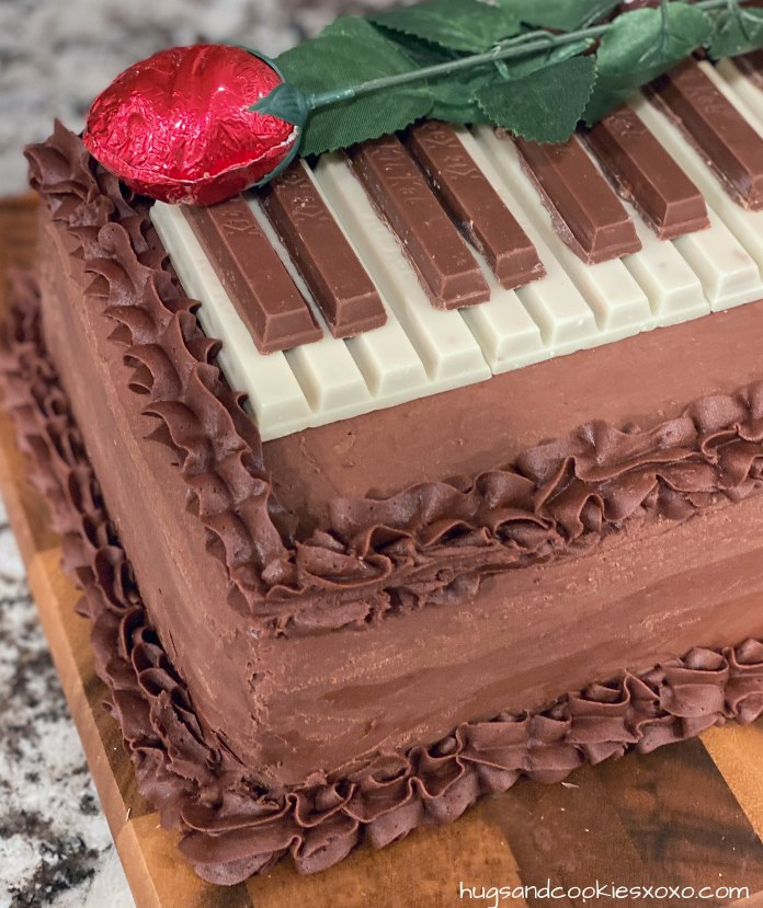 Piano Layer Cake