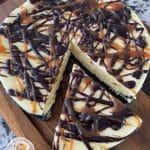 Hot Fudge Caramel Cheesecake