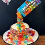 Mike & Ike Suspension Cake