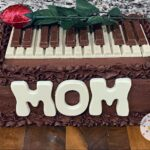 Mother's Day Piano Cake