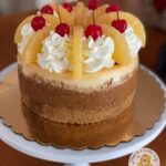 Pineapple Right Side Up Cheesecake