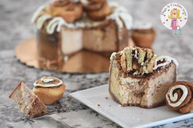 Cinnabun Cheesecake