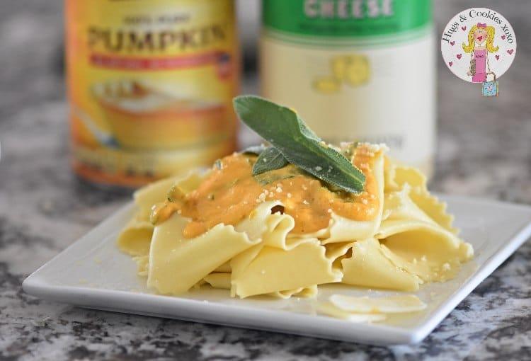 Pumpkin Sage Pasta Sauce