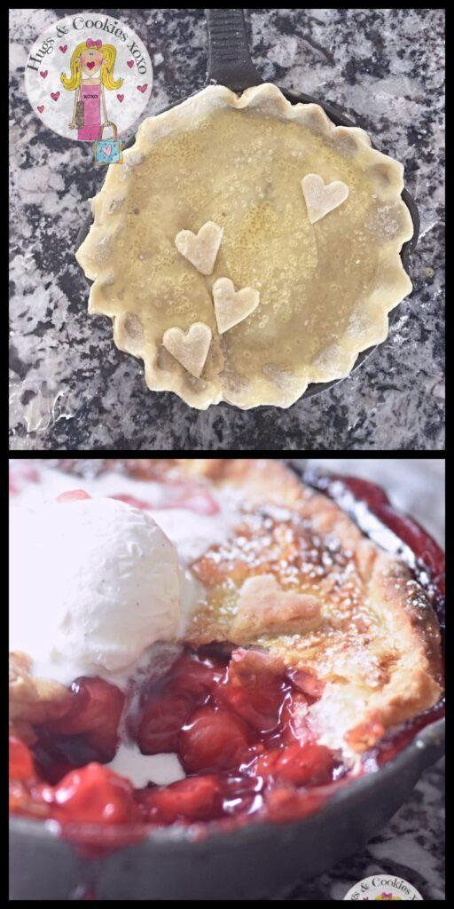Skillet Cherry Pie