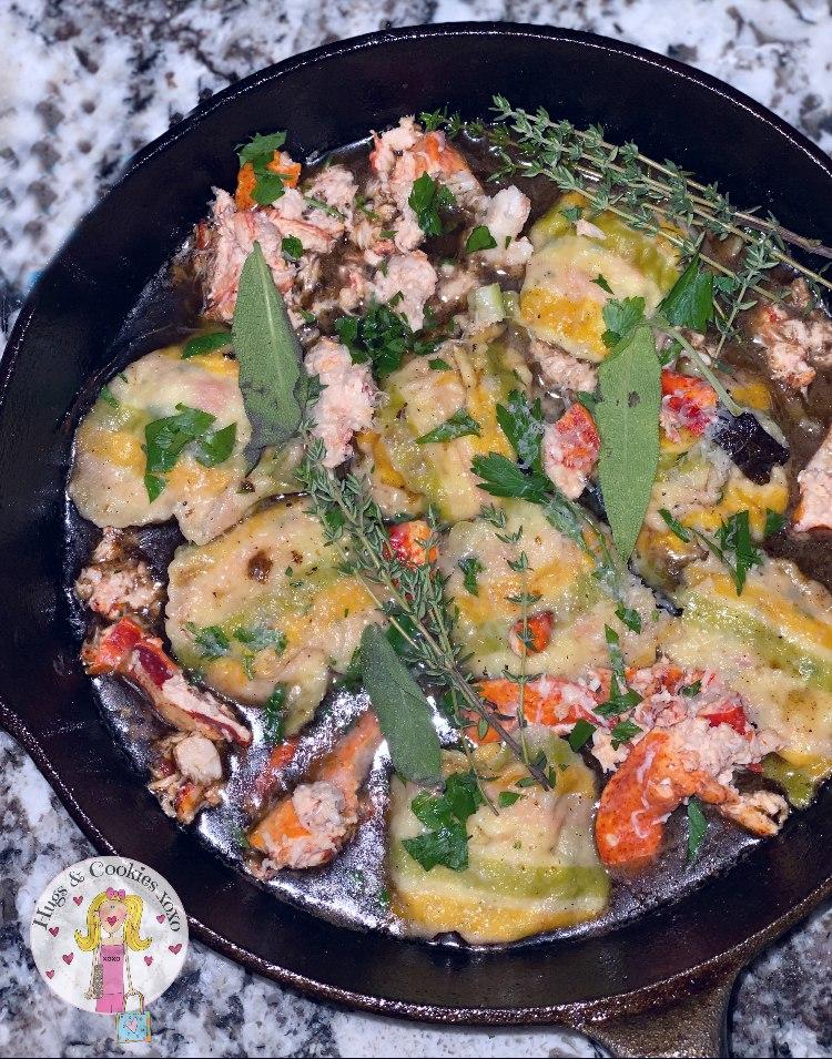 Homemade Lobster Ravioli