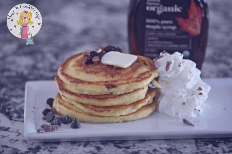 Classic Buttermilk Chocolate Chip Pancakes