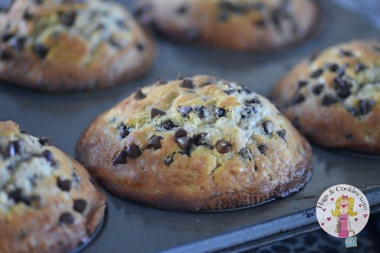 Jumbo Chocolate Chip Muffins